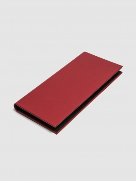 Binding card holder