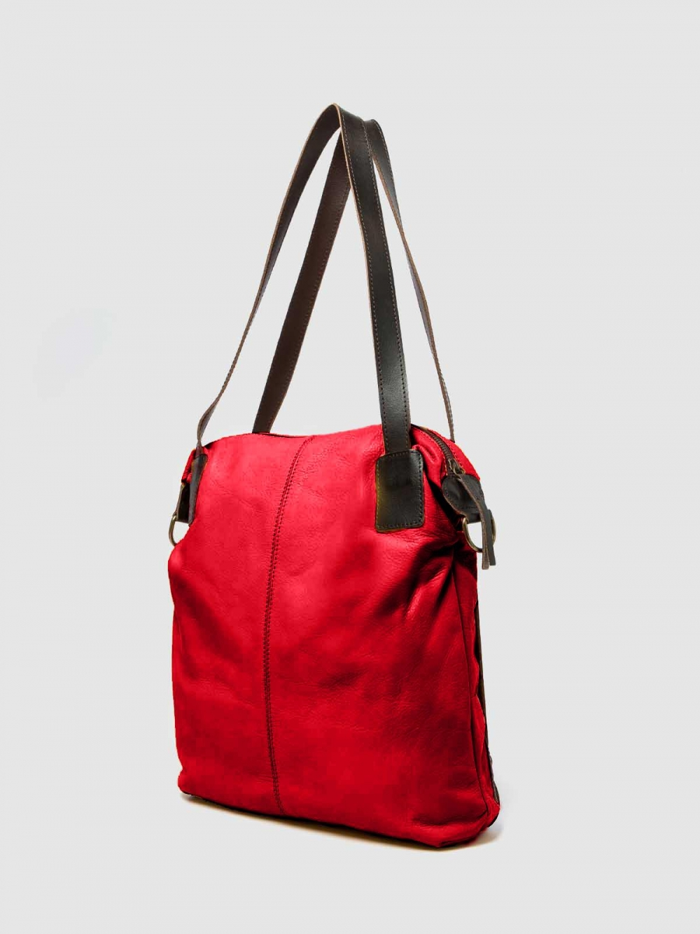 Two handles leather Handbag Tango