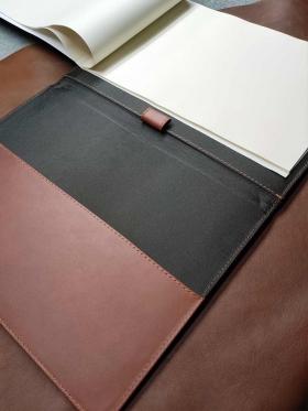 Leather Pad Portfolio